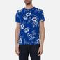 Мужская футболка Polo Ralph Lauren Floral Print Crew Neck Sapphire Star Pacific Hibiscus фото - 2