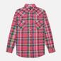 Мужская рубашка Polo Ralph Lauren Classic Fit Madras Western Pink/Blue фото - 0