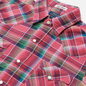 Мужская рубашка Polo Ralph Lauren Classic Fit Madras Western Pink/Blue фото - 1