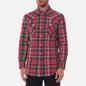 Мужская рубашка Polo Ralph Lauren Classic Fit Madras Western Pink/Blue фото - 2