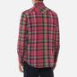 Мужская рубашка Polo Ralph Lauren Classic Fit Madras Western Pink/Blue фото - 3