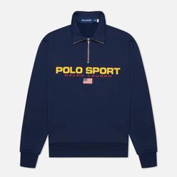 Мужская толстовка Polo Ralph Lauren Polo Sport Fleece Half-Zip Cruise Navy