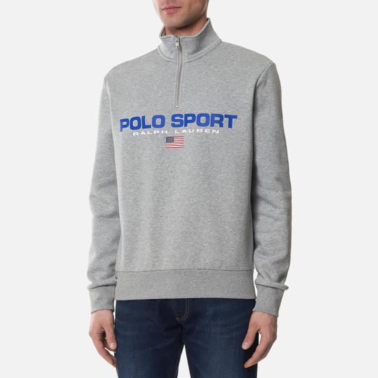 Мужская толстовка Polo Ralph Lauren Polo Sport Fleece Half-Zip Andover Heather