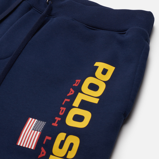 Мужские шорты Polo Ralph Lauren Polo Sport Fleece Cruise Navy