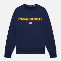 Мужская толстовка Polo Ralph Lauren Polo Sport Fleece Crew Neck Cruise Navy
