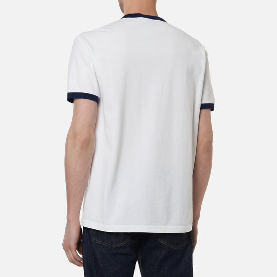 Мужская футболка Polo Ralph Lauren Classic Fit Polo Team Mesh White