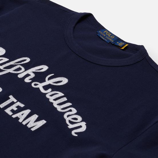Мужская футболка Polo Ralph Lauren Classic Fit Polo Team Mesh Cruise Navy