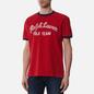 Мужская футболка Polo Ralph Lauren Classic Fit Embroidered Mesh Red фото - 2