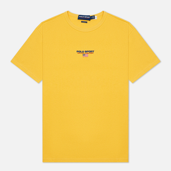 Мужская футболка Polo Ralph Lauren Polo Sport Heavyweight Jersey Chrome Yellow