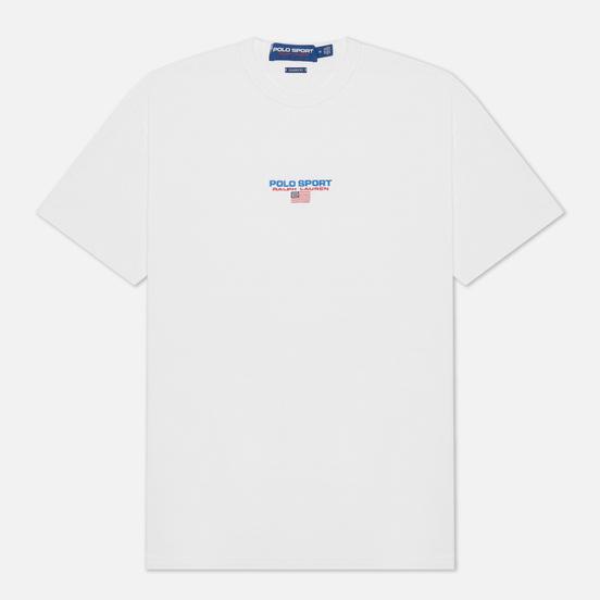 Мужская футболка Polo Ralph Lauren Polo Sport Heavyweight Jersey White