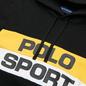 Мужская толстовка Polo Ralph Lauren Polo Sport Colour-Blocked Fleece Hoodie Polo Black/Multi фото - 1