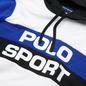 Мужская толстовка Polo Ralph Lauren Polo Sport Colour-Blocked Fleece Hoodie White/Multi фото - 1