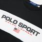 Мужская толстовка Polo Ralph Lauren Polo Sport Colour-Blocked Fleece Crew Neck Polo Black фото - 1