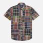 Мужская рубашка Polo Ralph Lauren Custom Fit Patchwork Madras Dark Patchwork фото - 0