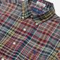 Мужская рубашка Polo Ralph Lauren Custom Fit Bleeding Madras Red/Navy Multi фото - 1