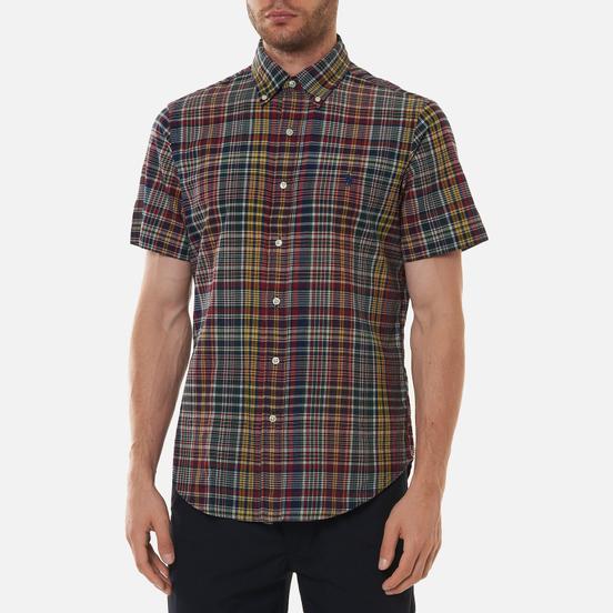 Мужская рубашка Polo Ralph Lauren Custom Fit Bleeding Madras Red/Navy Multi