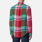 Мужская рубашка Polo Ralph Lauren Linen Plaid Custom Fit Red/Green Multi фото - 3