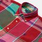 Мужская рубашка Polo Ralph Lauren Linen Plaid Custom Fit Red/Green Multi фото - 1