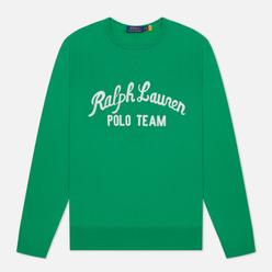 Мужская толстовка Polo Ralph Lauren Polo Team Fleece Crew Neck Scarab Green