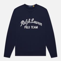 Мужская толстовка Polo Ralph Lauren Polo Team Fleece Crew Neck Cruise Navy