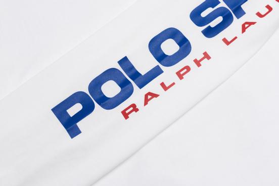 Мужской лонгслив Polo Ralph Lauren Polo Sport Classic Fit White