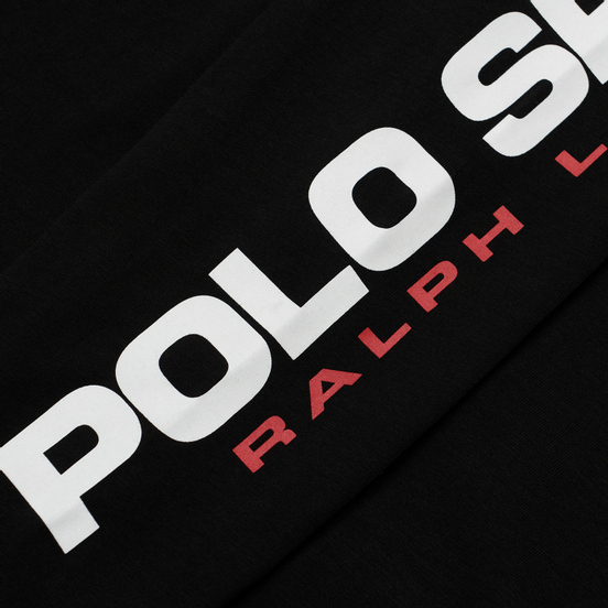 Мужской лонгслив Polo Ralph Lauren Polo Sport Classic Fit Black