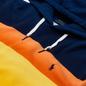 Мужская толстовка Polo Ralph Lauren Striped Fleece Hoodie Active Royal Multi фото - 1