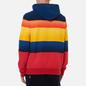 Мужская толстовка Polo Ralph Lauren Striped Fleece Hoodie Active Royal Multi фото - 3