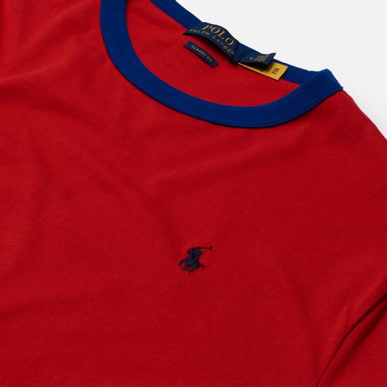 Мужской лонгслив Polo Ralph Lauren Polo Sleeve Logo Classic Fit Red