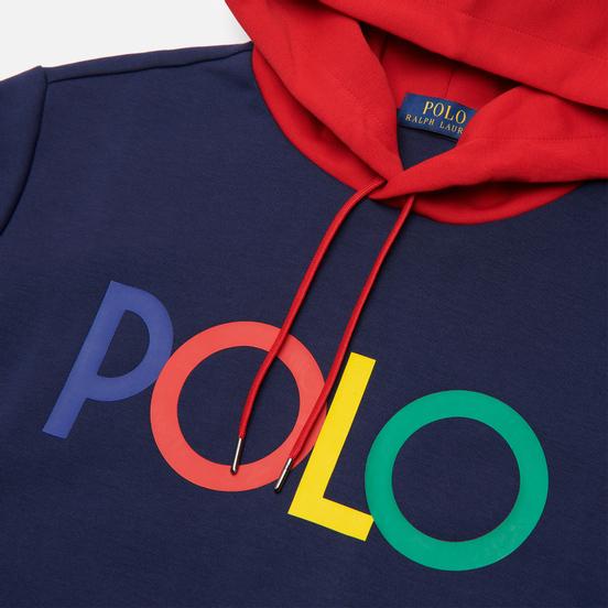 Мужская толстовка Polo Ralph Lauren Multicolor Polo Logo Hoodie Newport Navy