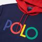 Мужская толстовка Polo Ralph Lauren Multicolor Polo Logo Hoodie Newport Navy фото - 1