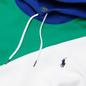 Мужская толстовка Polo Ralph Lauren Color Block Hoodie True Green/Multi фото - 1