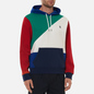 Мужская толстовка Polo Ralph Lauren Color Block Hoodie True Green/Multi фото - 2