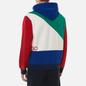 Мужская толстовка Polo Ralph Lauren Color Block Hoodie True Green/Multi фото - 3