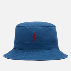 Панама Polo Ralph Lauren Cotton Chino Signature Embroidered Pony Delta Blue