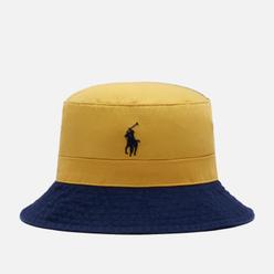 Панама Polo Ralph Lauren Color Block Twill Chrome Yellow/Newport Navy