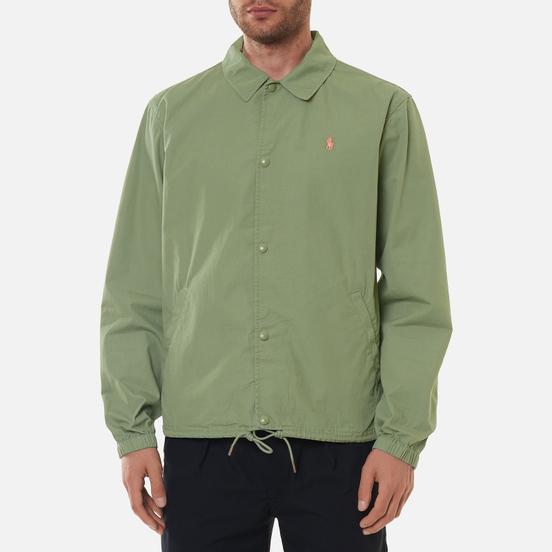 Мужская куртка Polo Ralph Lauren Coach Poplin Cargo Green