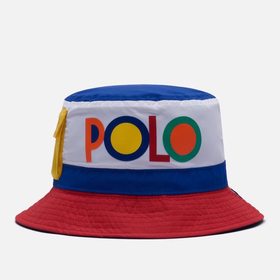 Панама Polo Ralph Lauren Reversible Color Block Collection Navy/Multi