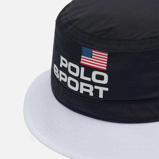 Панама Polo Ralph Lauren Polo Sport Nylon Performance Pure White/Multi