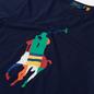 Мужская футболка Polo Ralph Lauren Custom Slim Fit Big Pony Newport Navy фото - 1