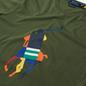 Мужская футболка Polo Ralph Lauren Custom Slim Fit Big Pony Army фото - 1