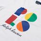 Мужская футболка Polo Ralph Lauren Custom Slim Fit Logo White фото - 1