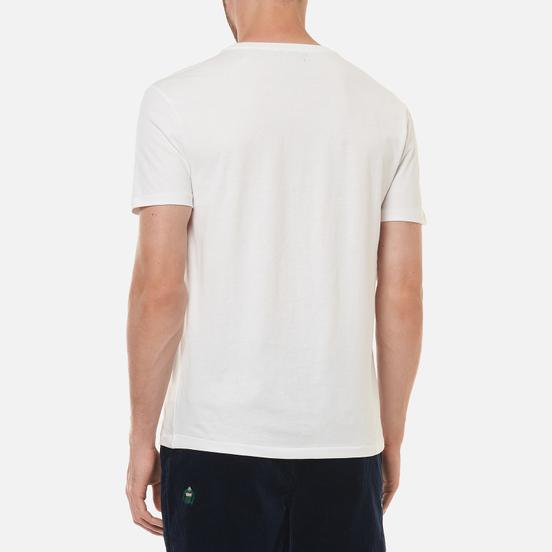 Мужская футболка Polo Ralph Lauren Custom Slim Fit Logo White