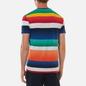 Мужская футболка Polo Ralph Lauren Multicolor Striped Crew Neck Spectrum Orange/Multi фото - 3