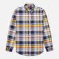 Мужская рубашка Polo Ralph Lauren Custom Fit Plaid Oxford Yellow/Blue Multi фото - 0