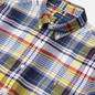 Мужская рубашка Polo Ralph Lauren Custom Fit Plaid Oxford Yellow/Blue Multi фото - 1