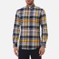 Мужская рубашка Polo Ralph Lauren Custom Fit Plaid Oxford Yellow/Blue Multi фото - 2