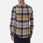 Мужская рубашка Polo Ralph Lauren Custom Fit Plaid Oxford Yellow/Blue Multi фото - 3