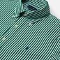Мужская рубашка Polo Ralph Lauren Custom Fit Button Down Streep Athletic Green/White фото - 1