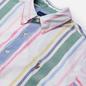 Мужская рубашка Polo Ralph Lauren Custom Fit Striped Oxford White/Green/Multi фото - 1
